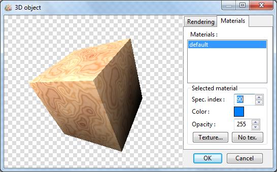 LazPaint / работа с 3d объектом в формате obj