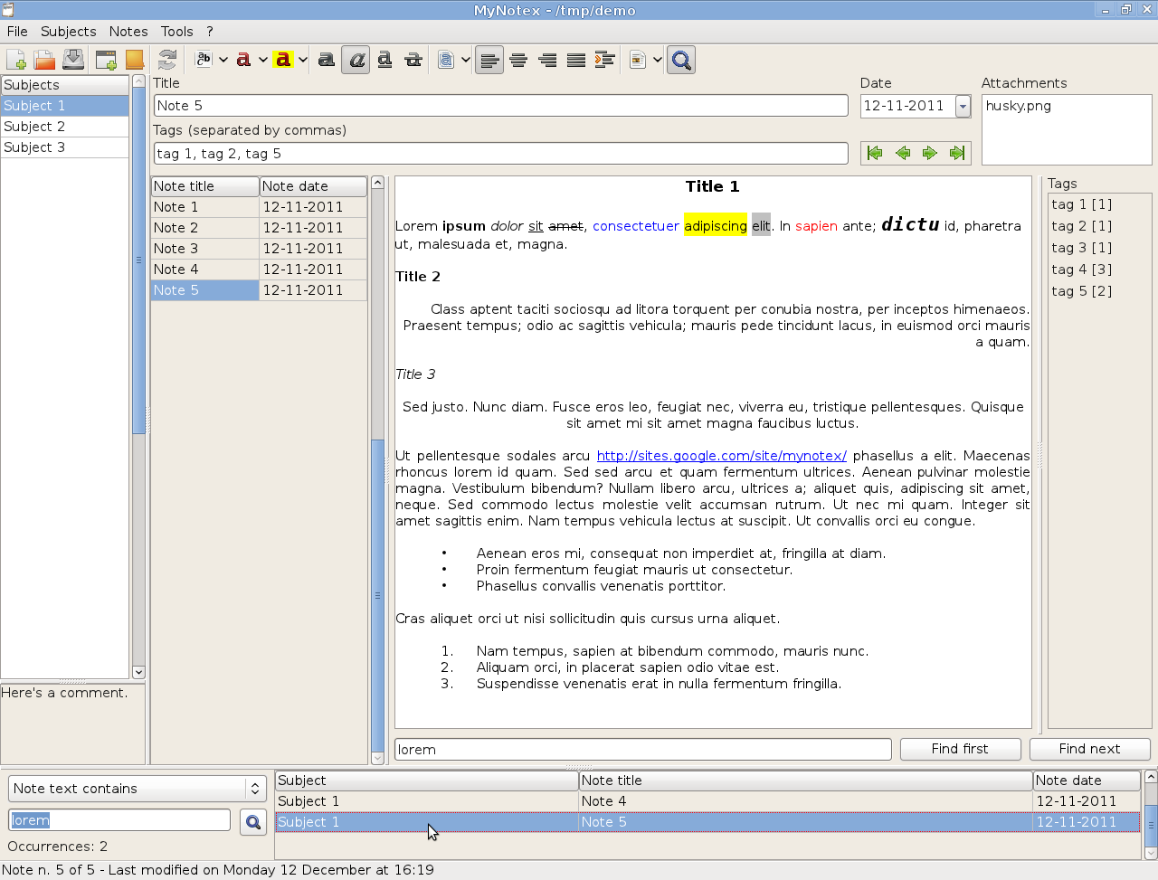 Screenshot of MyNotex 1.2.0 - en.png