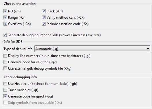 IDE Window: Project Options - Lazarus wiki