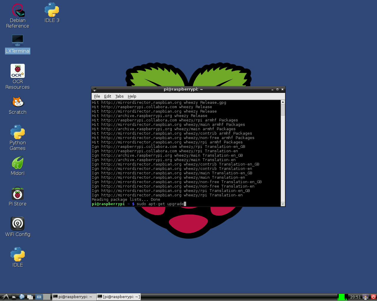 Lazarus on Raspberry Pi - Free Pascal wiki