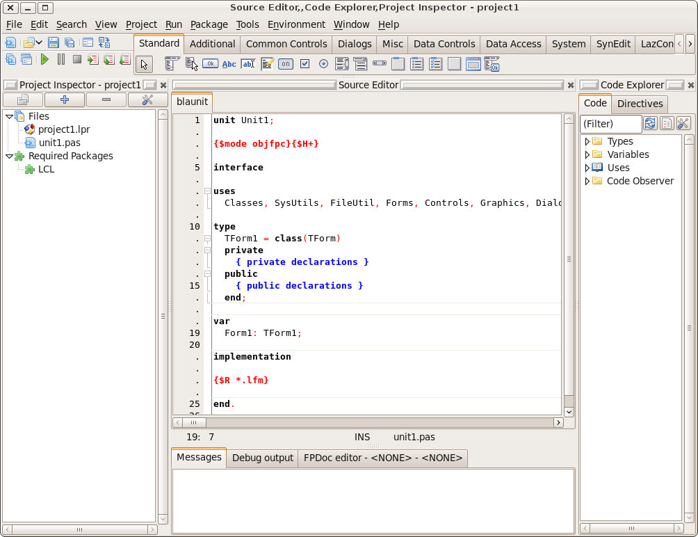 New IDE features since - Free Pascal wiki