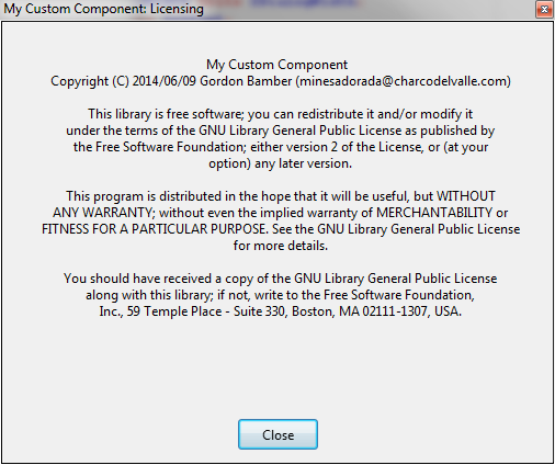 Screenshot MyCustomComponent LGPL LicenseScreen.png
